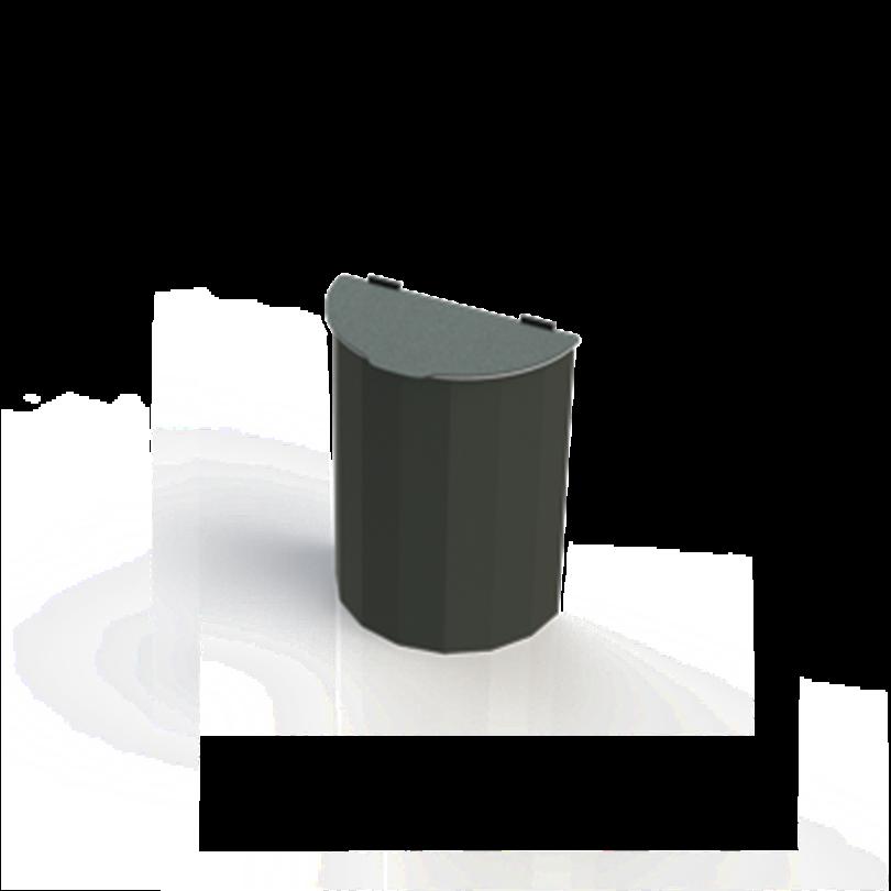 Blidsbergs papperskorg, Retur oval, 25 liter