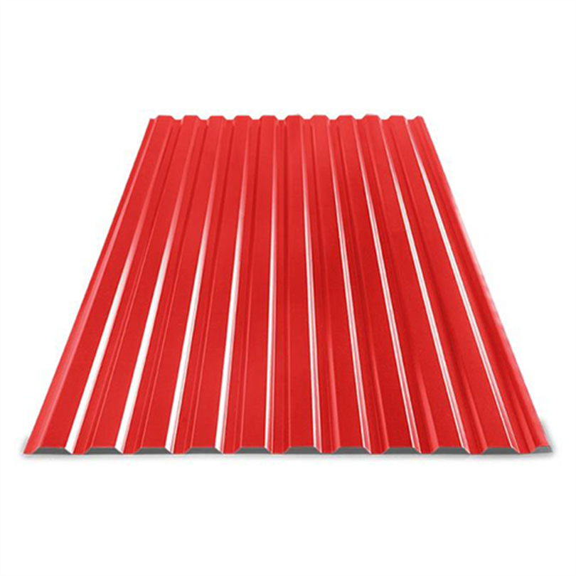 KamiTP trapetsplåt, Röd 418