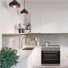 Fibo Kitchen Board väggskiva i kök, Grey Sahara