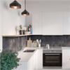 Fibo Kitchen Board väggskiva i kök, Lentini Dark