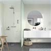 Fibo Adagio våtrumsskiva i badrum, Ivory