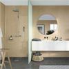 Fibo Adagio våtrumsskiva i badrum, Toscana Marmor