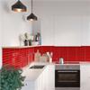 Fibo Kitchen Board väggskiva, Red