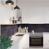Fibo Kitchen Board väggskiva i kök, Black