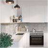 Fibo Kitchen Board väggskiva i kök, Lentini Grey