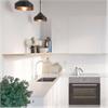 Fibo Kitchen Board väggskiva i kök, Rhodos White