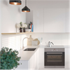 Fibo Kitchen Board väggskiva i kök, Denver White