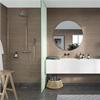 Fibo Marcato våtrumsskiva i badrum, Marina Grey Oak