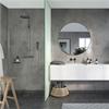 Fibo Marcato våtrumsskiva i badrum, Lentini Grey
