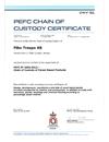 PEFC Chain of Custody Certificate