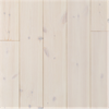 Borstad slätspont, Superlasyr, vit