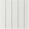 Finsågad spårpanel 4018, målad Vit S0502-Y