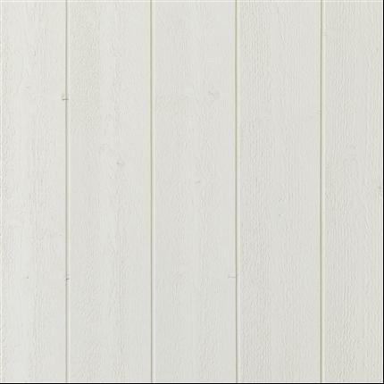 Finsågad springpanel av gran, målad vit S0502-Y
