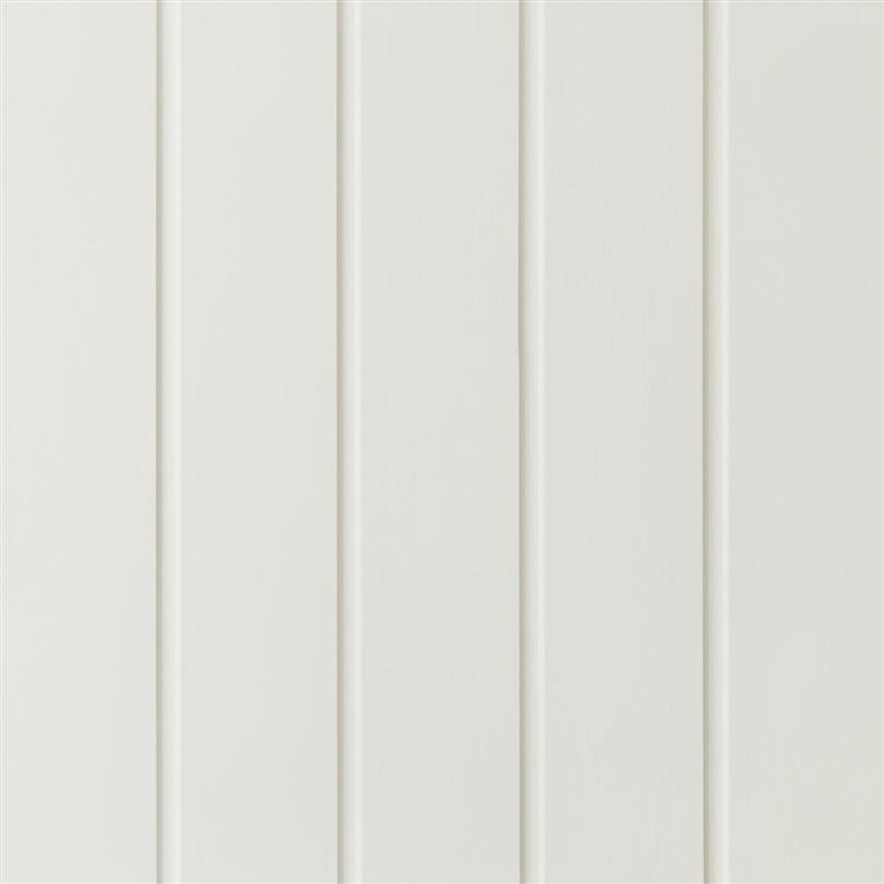 Putsad spårpanel dold, målad vit S0502-Y