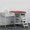 Budget, Skötbord med 5 st trådkorgar, tvättbänk vänster, blandare, trappa och madrass