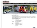 Prodma klädfack på webbplats