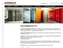 Prodma skärmväggssystem 24 på webbplats