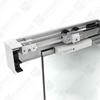 INTEC skjutdörrsbeslag för glasdörrar