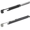 SAF-SLIM dörrbladsdämpare M66S (20-60 kg), M67S (60-80 kg)