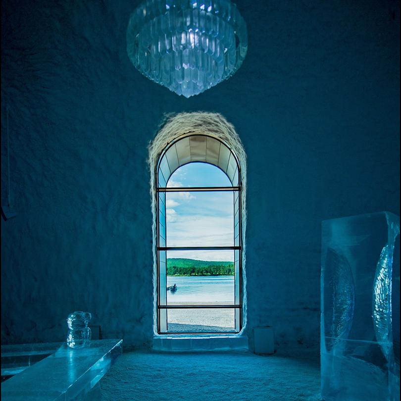 ICEHOTEL 365, Jukkasjärvi. Foto: Asaf Kliger