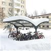 FalcoGamma cykeltak, på bostadsområde