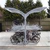 FalcoLevel Eco cykelställ i två våningar