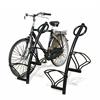 cykelställ, höga och låga cykelplatser