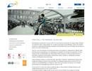 FalcoLinea parkbänk på webbplats