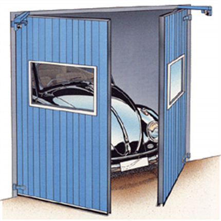 Torverk R-DOOR PX/PDX slagportar/slagdörrar