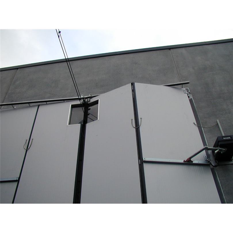 Torverk Industrial Doors AB, Traversuttag Kastrup Danmark 1