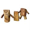 Naturlek Träfigurer lekredskap