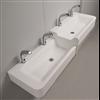 Noas tvättrännor 1600, Vattenlek, tvättställ i två nivåer
