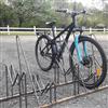 TMI cykelställ M hög/låg med låsbåge