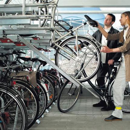 TMI två- och flervånings cykelställ