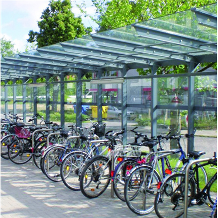 TMI cykeltak och väderskydd