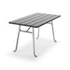 Byarum Seriff bord, aluminium med laserat trä