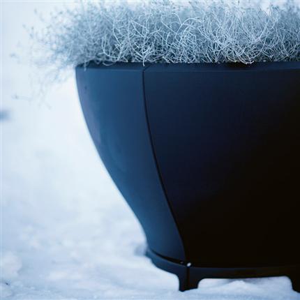 Byarum Små Blom växtkärl, svart