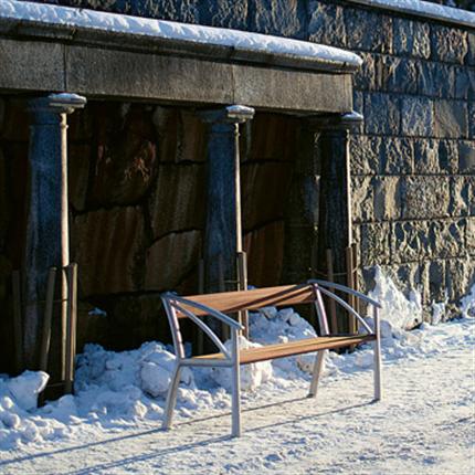 Byarum Vasa soffa på snö