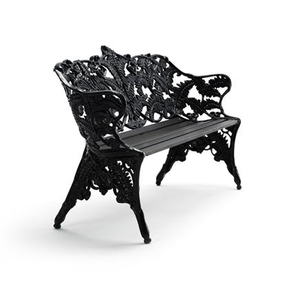 Byarum Classic soffa -  Ormbunkssoffan, svart