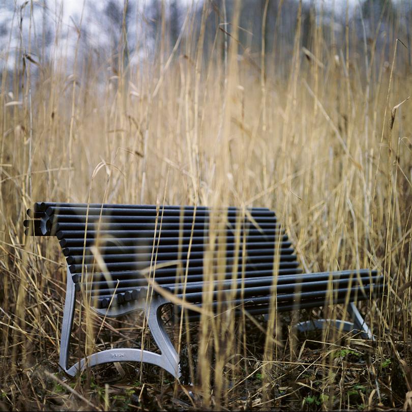 Byarum Jujol Soffa, på natur miljö