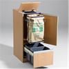 San Sac källsorteringsmöbler, Medium säckhållare lådutdrag