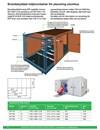 Brandskyddad miljöcontainer