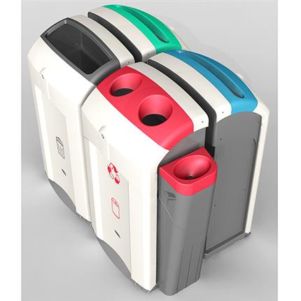 Källsorteringsbehållare Nexus 100