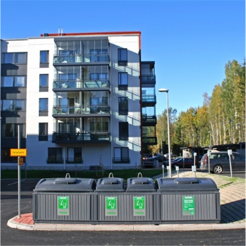 Molok Domino källsorteringsstation