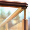 GSAB Rostfria glasräcken med runda rör