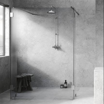 Invitrea duschväggar Västkustserien