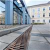 Anrin DRAIN avvattningsrännor, Regensburg torg