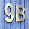 Fasaddekor.se husnummer - fasadsiffror och -bokstäver av metall