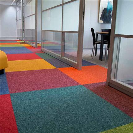 Step textilplattor