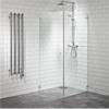 Duschhärn med raka duschväggar
